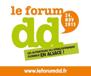 Le Forum DD - les activateurs du développement durable en Alsace